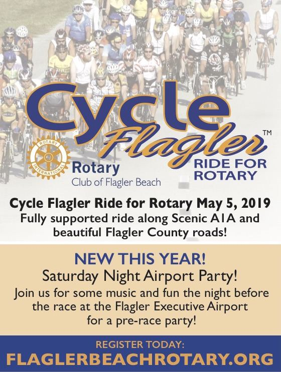 Cycle Flagler kick stands up launches on May 5th, 2019 at 8am!