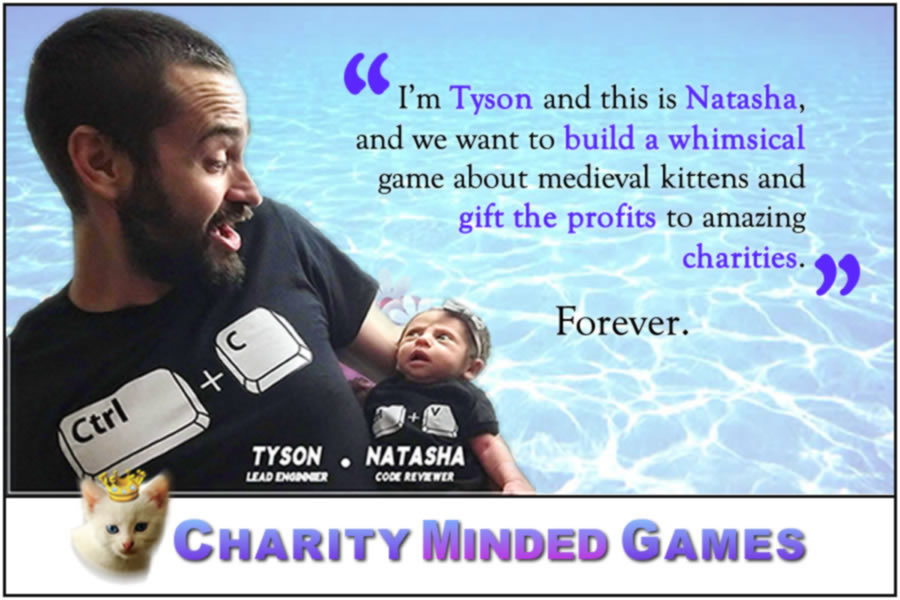 Charity Minded Games - Mission Statement