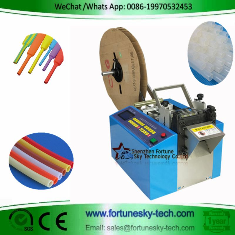 Fully Automatic Heat Shrinkable Tubing Cutting Mac