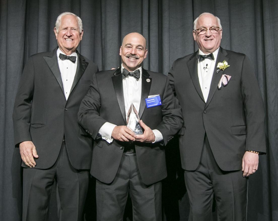Tom Masiello Receives Benchmark Darrell Harvey Values Award