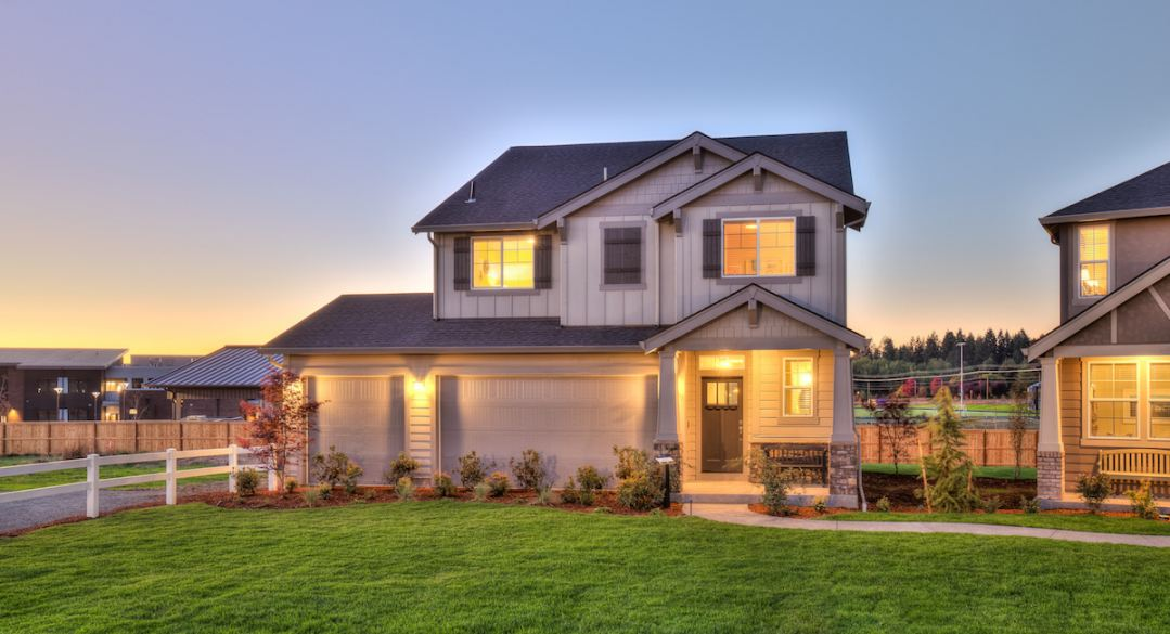 New homes for sale in Gresham showcasing modern two-story designs