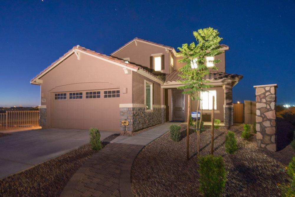 New homes for sale in San Tan Valley showcasing modern designs and EI® features