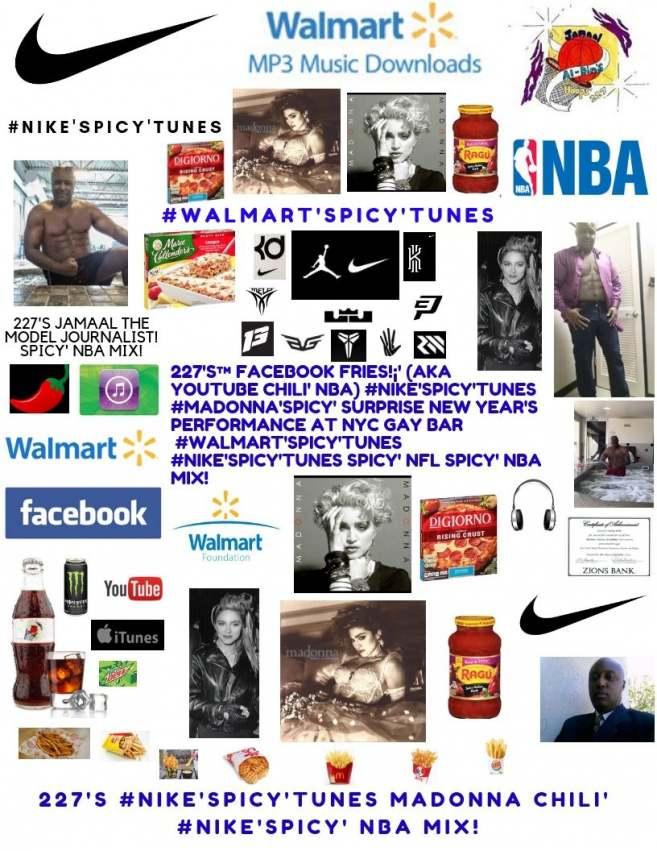 227's™ #Nike'Spicy'Tunes Madonna Chili', Maluma Chili' - Medellín Spicy' NBA!