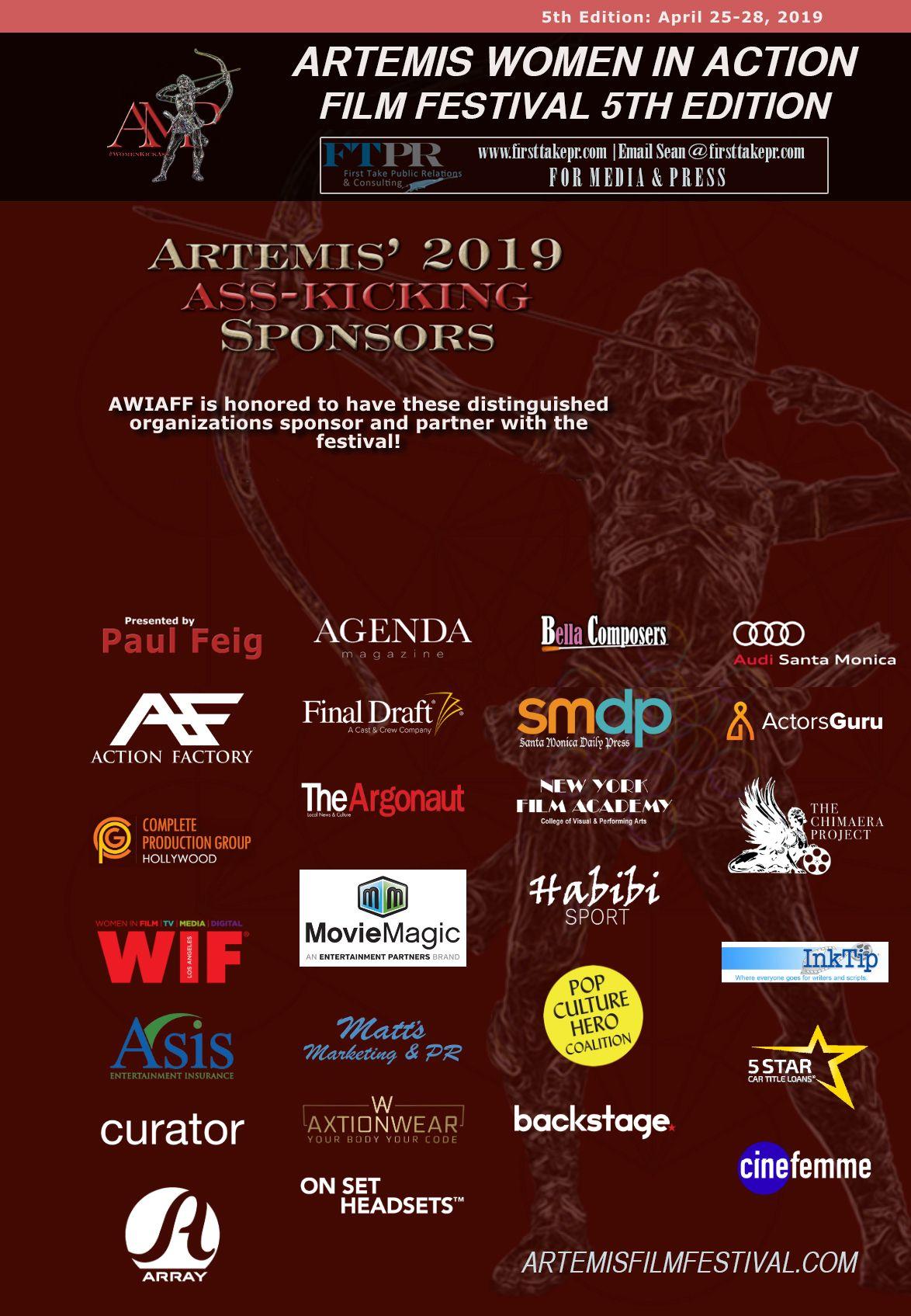 ARTEMIS 2019 SPONSOR PAGE