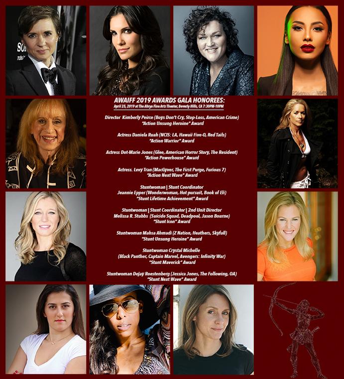 AWIAFF 2019 Awards Gala Honorees