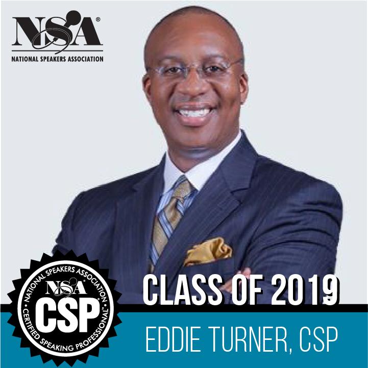 Eddie Turner NSA CSP Class of 2019