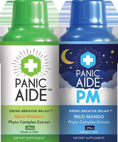 Panic Aide, portable panic relief.