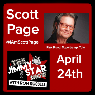 Scott Page on The Jimmy Star Show With Ron Russell