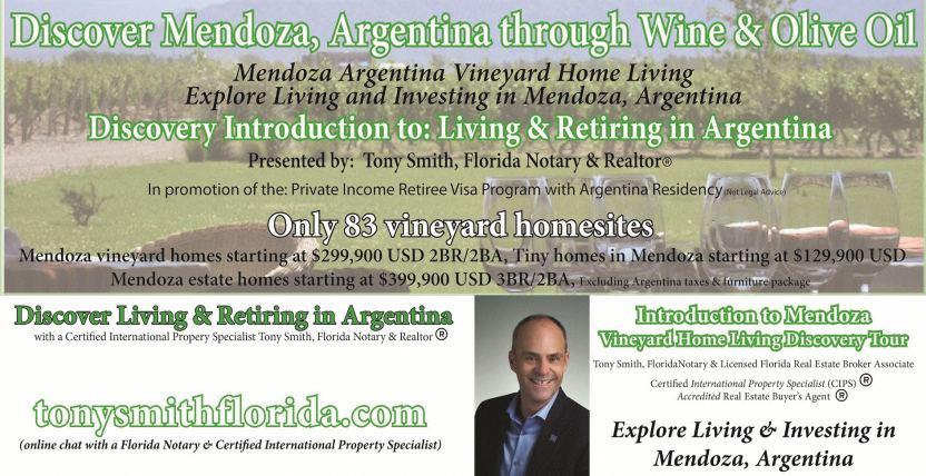 Retiring in Argentina
