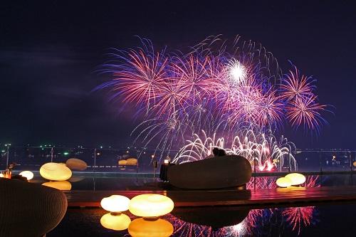 Pattaya International Fireworks Festival at Drift, Hilton Pattaya