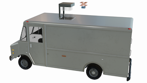 Talon v2.5 - Package Delivery Truck