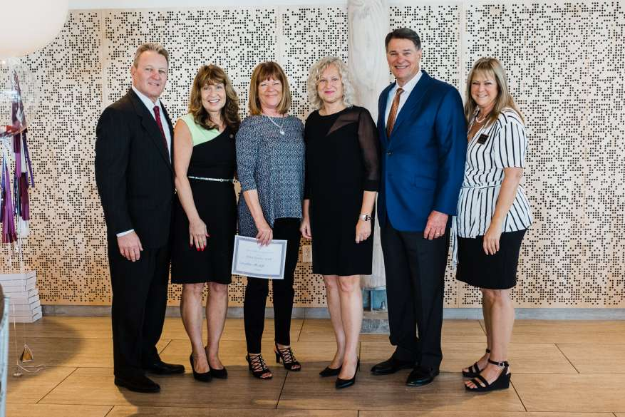 The Reed-Ferry Team Award Winners