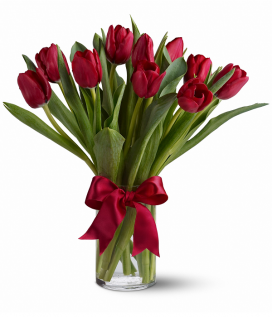 Bloomex Red Tulips
