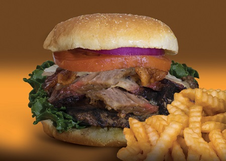 Triple-B Burger is Available for a Limited Time at Woody's Bar-B-Q