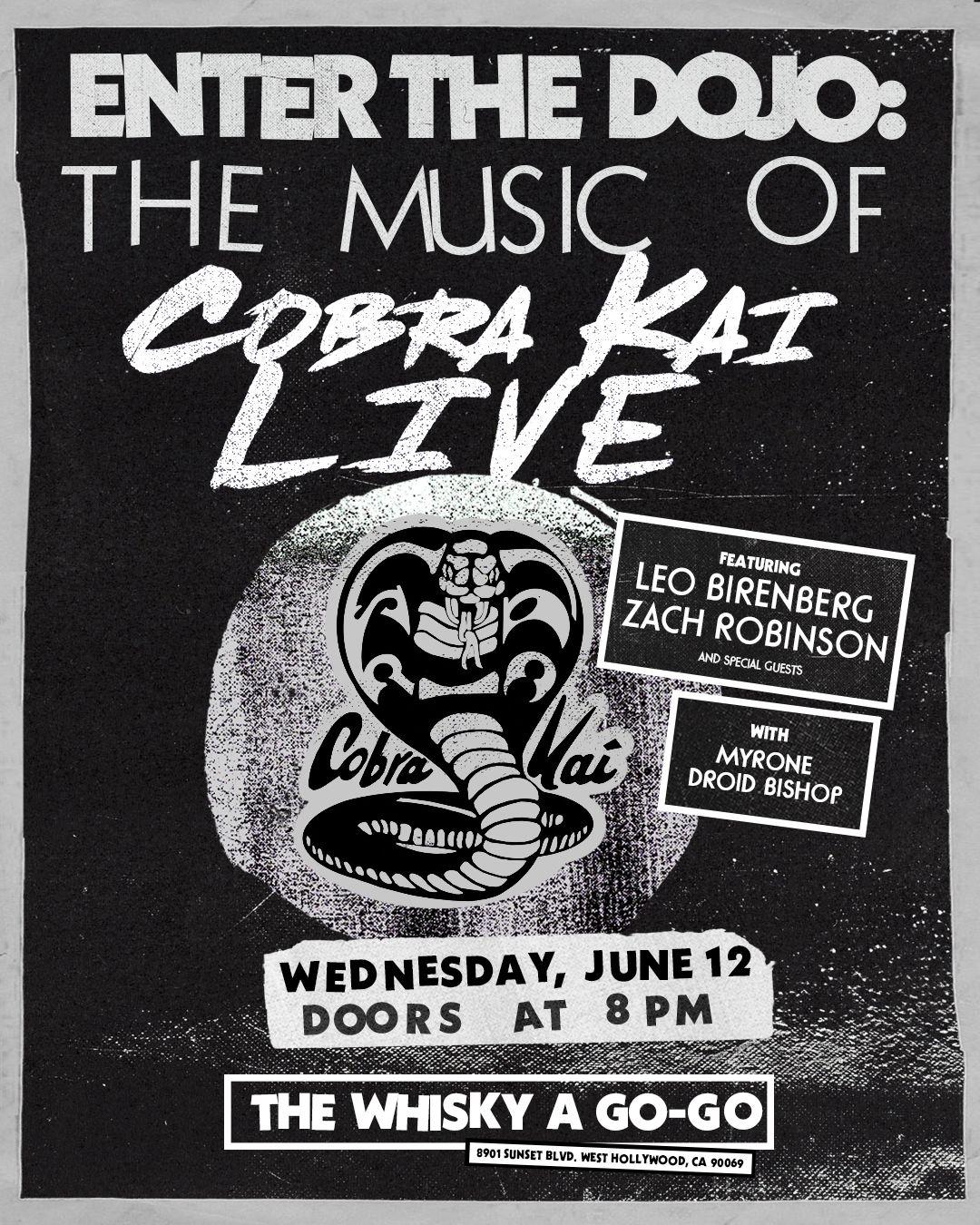 Cobra Kai Concert Poster