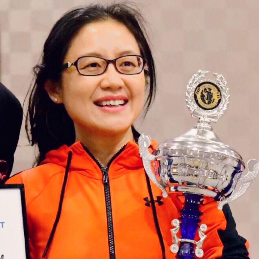 Annie Yun Bai, District 86 International Speech Contest Champion