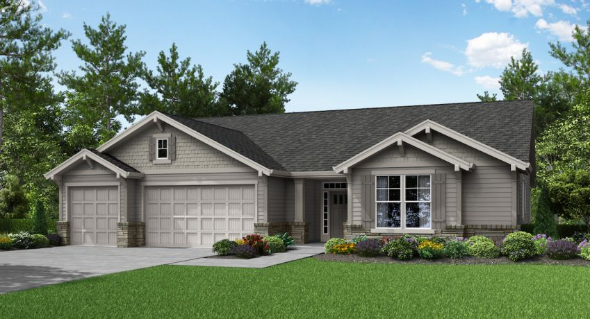 New homes for sale in Ridgefield showcasing modern designs and amenities