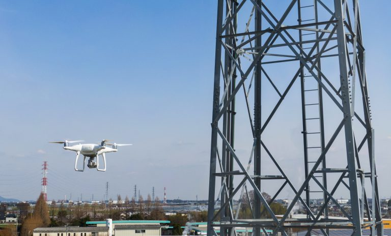Terra Drone's infrastructure inspection service using drones