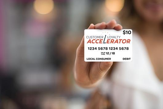 Customer Loyalty Accelerator Card