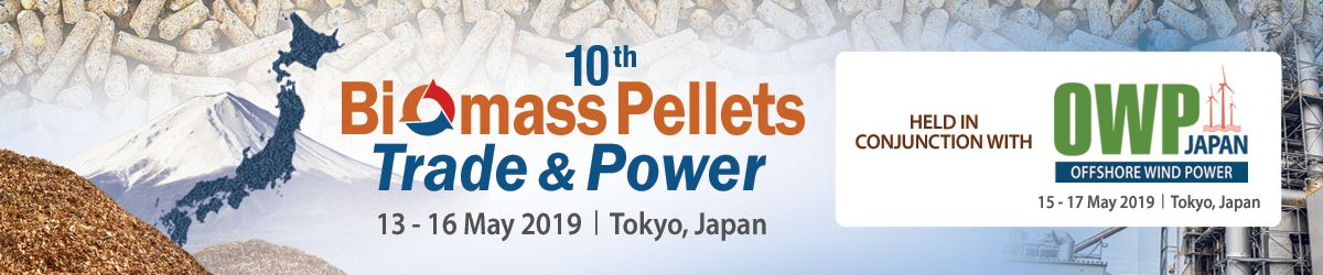 10th Biomass Pellets Trade & Power and OWP Japan