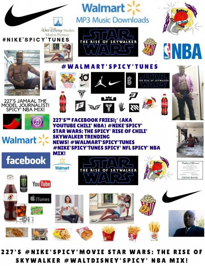 227 S Youtube Chili Nike Spicy Movie Star Wars The Spicy Rise Of Chili Skywalker Spicy Nba Jamaal Al Din S Hoops 227 Prlog