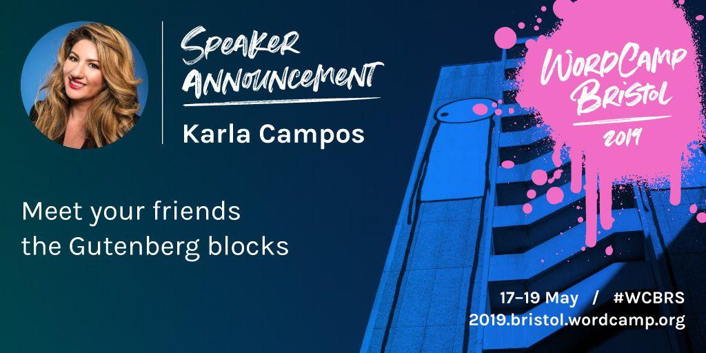 wordcamp bristol karla campos