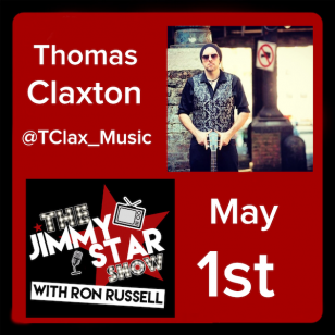 Thomas Claxton on The Jimmy Star Show With Ron Russell