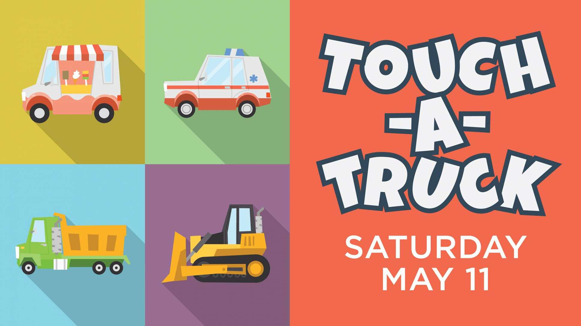 TrailMark is Hosting Touch-A-Truck on May 11