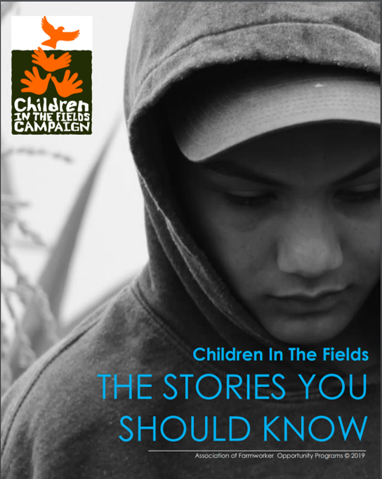 "The front page of ""Children in the Fields: THE STORIES YOU SHOULD KNOW"""