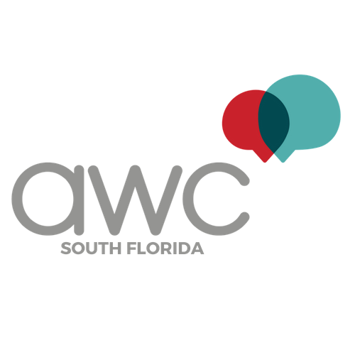The Association for Women in Communications South Florida logo