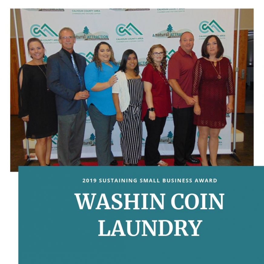 Washin Coin Laundry 2019 Sustaining Small Business Award