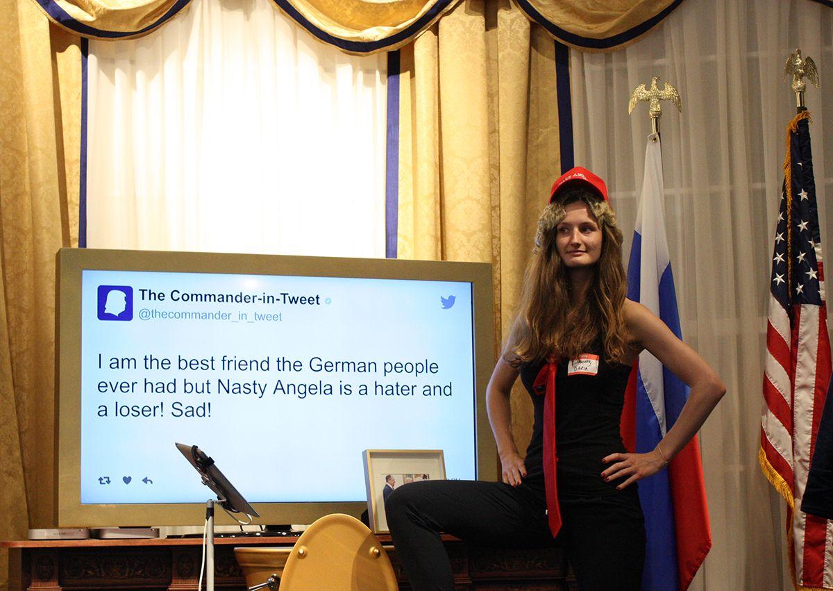 Commander in Tweet Activation