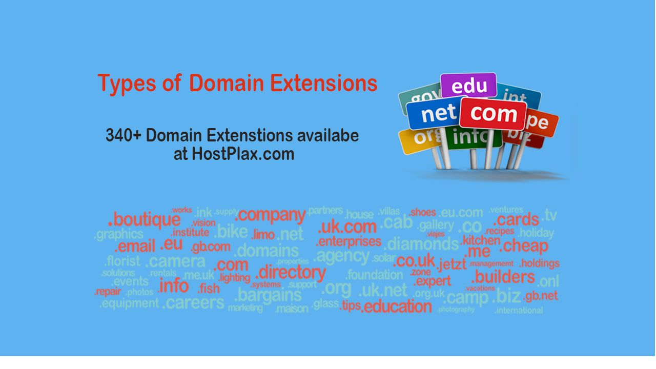 types of domain extensions-2