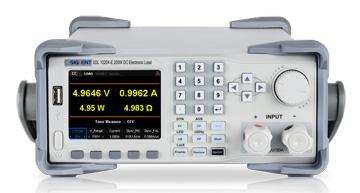 Siglent SDL1000X DC Load from Saelig
