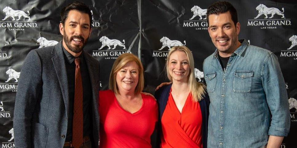 Sharon Andrews & Alex Campbell Meet HGTV's Property Brothers