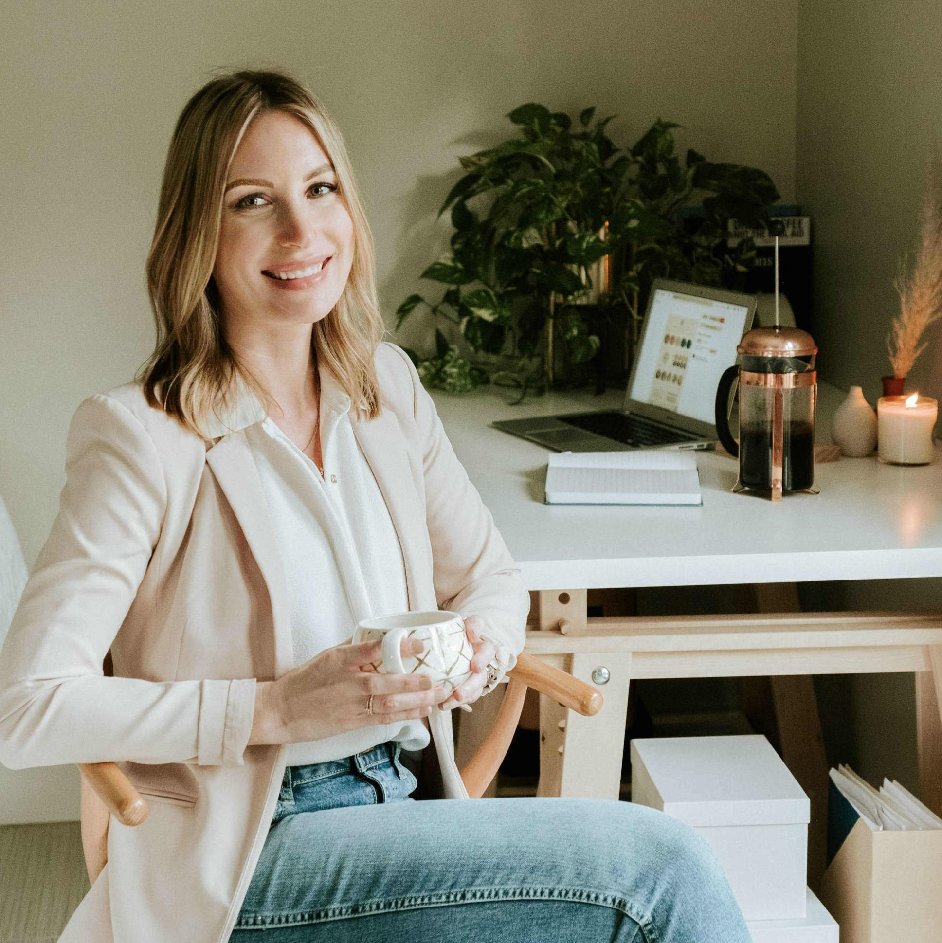 Lindsey Davis, co-founder of Skin at Peace Skincare
