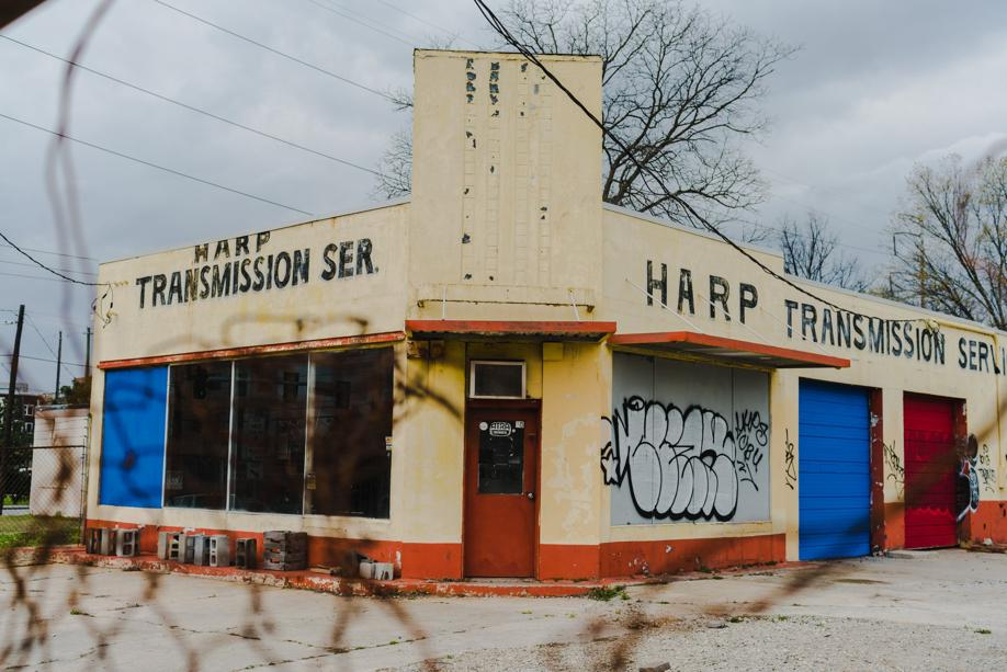 The Harp Transmission building at 350 Memorial Drive will become The Harp.