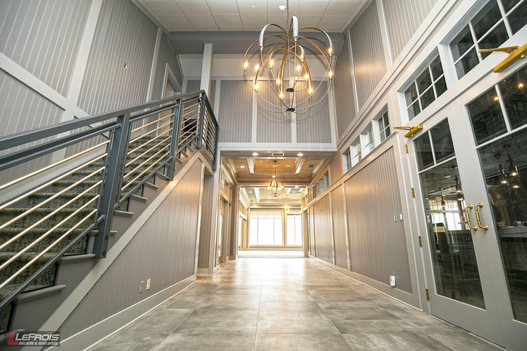 Shadow Lake's new foyer