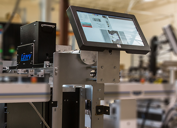 LearyVIEW Print inspection technology