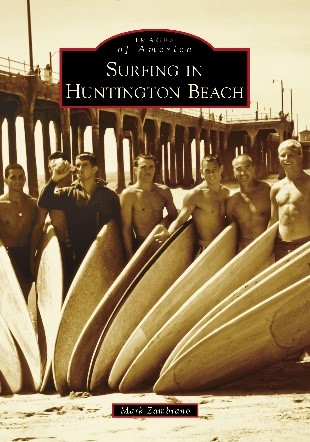 Surfing in Huntington Beach
