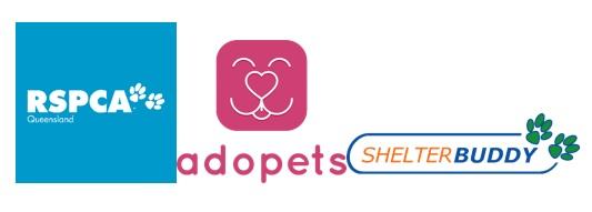 RSCPA and Adopets and ShelterBuddy Logos