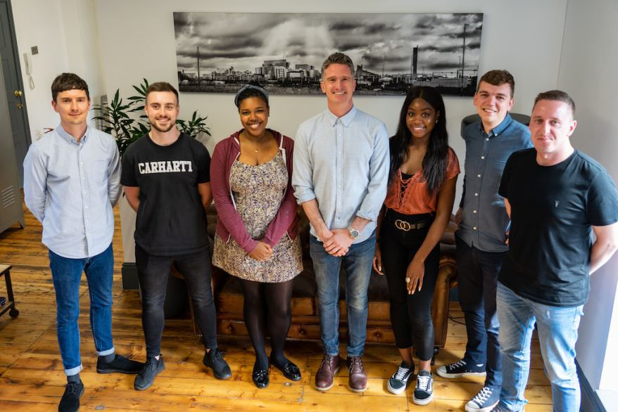 CEO and Co-Founder with new hires
