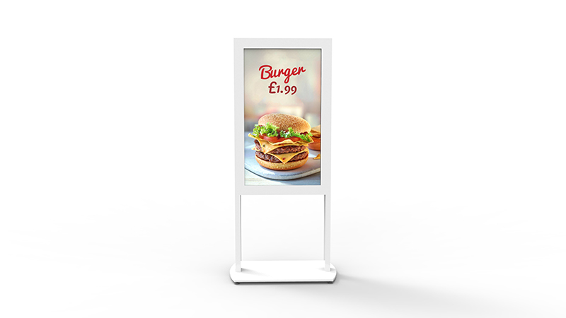 Freestanding UHB Digital Posters Have  Been Added to Mid West Display range