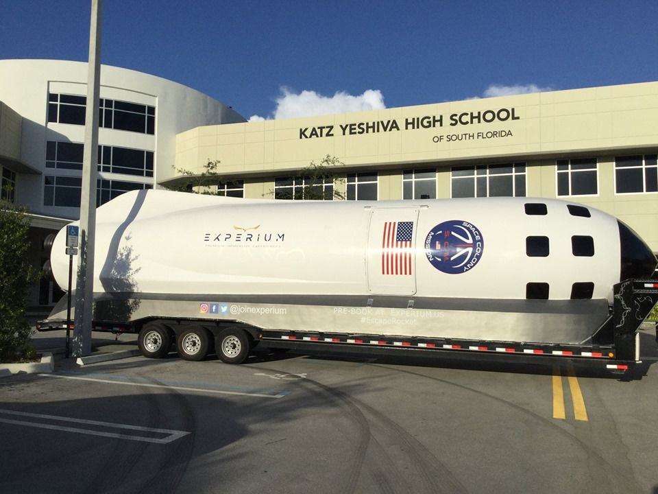 Katz Yeshiva High School in Boca Raton Hosts Innovation Day