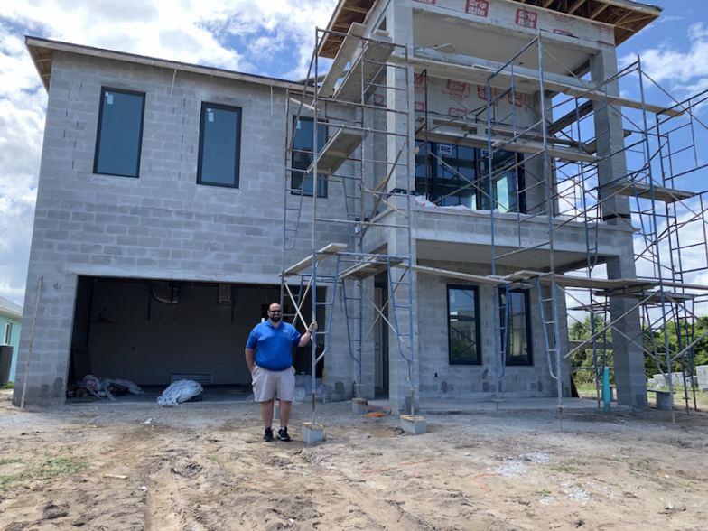 Intracoastal Construction's Robbie Richmond at 2212 S Central Ave, Flagler Beach