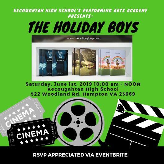 KHS Arts Academy Presents The Holiday Boys-CORRECT