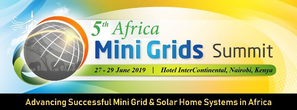 5th Africa Mini Grids Summit 2019 on June 27-29 in Nairobi, Kenya
