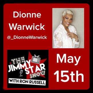Dionne Warwick on The Jimmy Star Show with Ron Russell