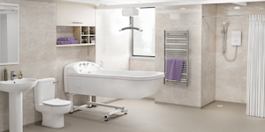 Gainsborough will be exhibiting a complete specialist wet room