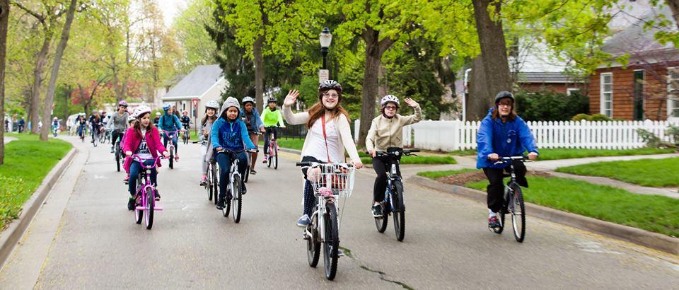 Michigan Fitness Foundation's Bike to School Day